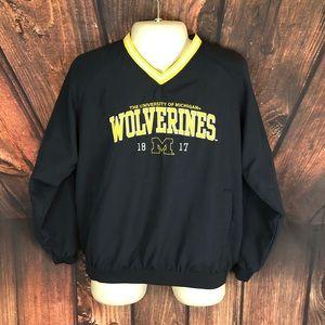 Other - Michigan Wolverines Mens L Windbreaker